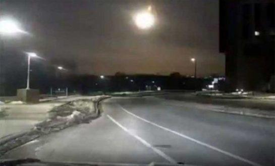 Cae un meteorito cerca de Detroit (EEUU) y provoca un temblor de intensidad 2